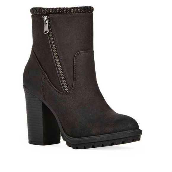 JustFab Shoes - JustFab Cleated Ankle Boots‼️REDUCED‼️